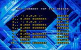 Superman: The Man of Steel Atari ST Top Ten Scores