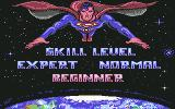 Superman: The Man of Steel Commodore 64 Skill Level Selection