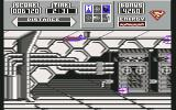 Superman: The Man of Steel Commodore 64 Flying inside satellite towards the hostile droids