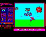 Superman: The Man of Steel BBC Micro Attacked by Darkseid's para-demons
