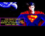 Superman: The Man of Steel BBC Micro You have failed this time