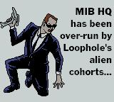 Men in Black: The Series Game Boy Color Mission one briefing.