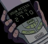 "Men in Black: The Series Game Boy Color ""You also have '1' unheard message. First unheard message..."""