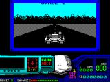 Techno Cop ZX Spectrum The game starts here with a bit of driving