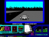 Techno Cop ZX Spectrum Later the message changes and a picture of the bad guy is displayed. In the game this part feels odd because the car pulls off the road of its own accord
