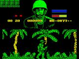 GI Hero ZX Spectrum When GI starts to move the massive black aura surrounding him becomes apparent. It really shows when he's next to another character