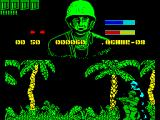 GI Hero ZX Spectrum The enemies are not very clever. This one, and many others, walks right past GI so that he can be shot