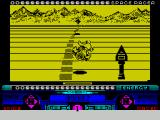 Space Racer ZX Spectrum Dramatic cornering animation