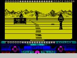 Space Racer ZX Spectrum It is possible to go so high the racer is off the screen