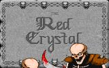The Red Crystal: The Seven Secrets of Life DOS Title