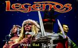 Legends Amiga CD32 The title screen.