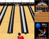 Kingpin: Arcade Sports Bowling Amiga CD32 Aiming my shot...