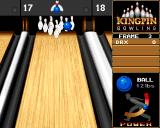 Kingpin: Arcade Sports Bowling Amiga CD32 ... and failing miserably.