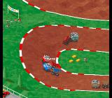 Super Skidmarks Amiga CD32 Oh yes, cows on wheels. Why not.