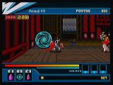 Action Hero 3D: Wild Dog Zeebo At the beginning of each stage there is  a portal like this one. From it, you can save your game, load it, choose a stage to go and equip enemies.