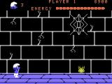 Smurf: Rescue in Gargamel's Castle ColecoVision Spiders may slow your progress...