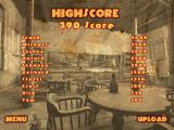 Crazy Chicken: Wanted Windows The high-scores table
