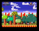 Marvin's Marvellous Adventure Amiga CD32 Jumping from a tree.