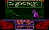 The Seven Gates of Jambala Amiga CD32 This dragon like creature wants to sell me something.