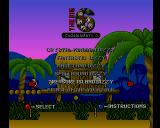 The Big 6 Amiga CD32 Compilation menu: Treasure Island Dizzy.