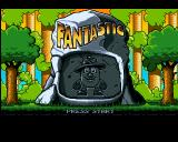 The Big 6 Amiga CD32 Fantastic Dizzy AGA: Title screen.