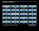 Jetstrike Amiga CD32 There is a huge selection of planes available to choose from!