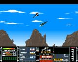 Jetstrike Amiga CD32 Dogfighting in my F4 Phantom.
