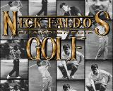 Nick Faldo's Championship Golf Amiga CD32 Title screen.