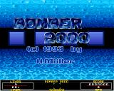 Gamers' Delight Amiga CD32 Bomber 2000: Title screen.