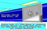 Combination Lock DOS Copyright Information (Tandy)