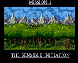 Cannon Fodder Amiga CD32 Intro sequence for the jungle setting.