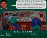 The Clue! Amiga CD32 The barkeeper is advertising beer from Austria.