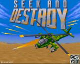 Seek and Destroy Amiga CD32 Title screen.
