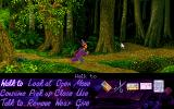 Simon the Sorcerer Amiga CD32 Taking a walk through the woods.