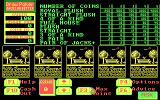 Dr. Wong's Jacks+ Video Poker DOS Main playscreen (CGA)