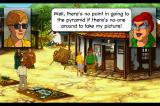 Broken Sword II: The Smoking Mirror - Remastered iPhone Talking with Pearl in Quaramonte.