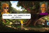 Broken Sword II: The Smoking Mirror - Remastered iPhone The Priest in Quaramonte Jungle.
