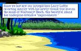 Leisure Suit Larry III: Passionate Patti in Pursuit of the Pulsating Pectorals Atari ST Introduction