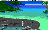 Leisure Suit Larry III: Passionate Patti in Pursuit of the Pulsating Pectorals Atari ST Not the nicest beach around...