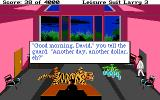 Leisure Suit Larry III: Passionate Patti in Pursuit of the Pulsating Pectorals Atari ST Stopping by the office