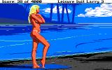 Leisure Suit Larry III: Passionate Patti in Pursuit of the Pulsating Pectorals Atari ST Hmm, an attractive girl on the beach!