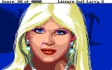 Leisure Suit Larry III: Passionate Patti in Pursuit of the Pulsating Pectorals Atari ST Closeup view of Tawni