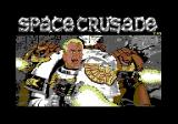 Space Crusade Commodore 64 Title screen