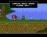 Superfrog Amiga CD32 Loading level 1.