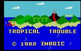 Tropical Trouble Intellivision Title screen