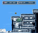 E. V. O.: Search for Eden SNES It's not much fun to be a reptile in the ice age
