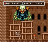 E. V. O.: Search for Eden SNES One of the bosses