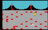 Tropical Trouble Intellivision Lava can slow your progress