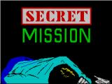 Secret Mission ZX Spectrum Game loader