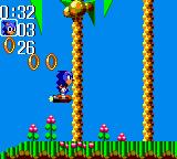 Sonic the Hedgehog Chaos Game Gear Rocket ride